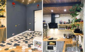 Квартира 56 м² для семьи с двумя детьми