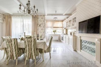 Уютный прованс в интерьере: описание стиля, выбор цвета, отделки, мебели, декора