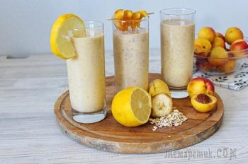 3 рецепта смузи с персиком