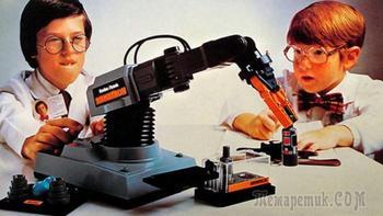 Роботы ушедшего столетия. Какие игрушки-роботы существовали в 80-е годы