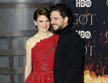 Звезды «Игры престолов» Кит Харингтон и Роуз Лесли готовятся впервые стать родителями