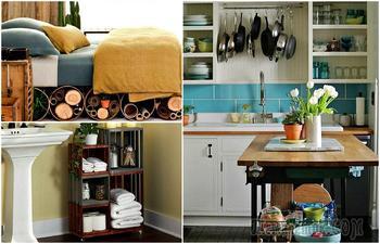 Идеи хранения, которые украсят интерьер и помогут навести порядок
