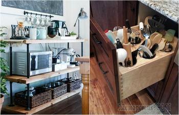 Современные системы хранения, с которыми каждой вещи на кухне найдётся своё место