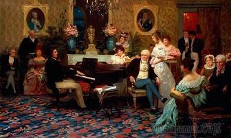 """Музыкальный салон. По мотивам """"Евгения Онегина"""""""