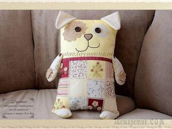 Шьем подушку-игрушку в виде собаки