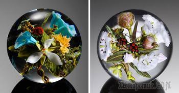 Восхитительные стеклянные цветы