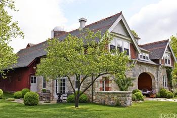 Коттедж 1870 года постройки в новом обличье