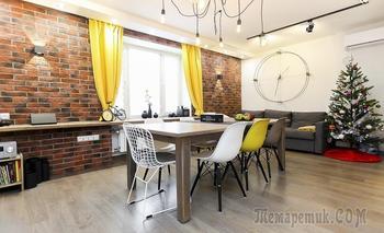 Стильная квартира 96 м² на Каширской