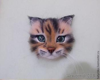 Мастер-класс: как свалять очаровательного котика