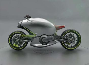Электрический мотоцикл Porsche 618