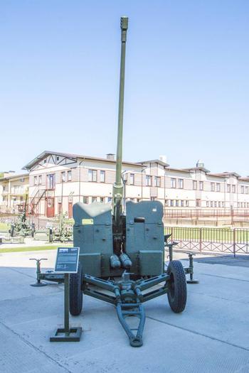 Зенитный артиллерийский комплекс С-60
