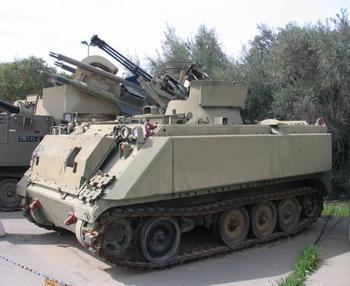 Зенитный ракетно-пушечный комплекс «Махбет» (Израиль)