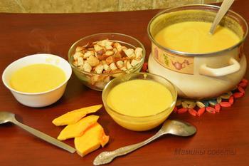Суп-пюре из тыквы – нет ничего проще и вкуснее!
