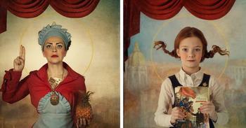 Святые из «совка» от казахской фотохудожницы, принесли ей победу в Париже