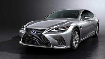 Lexus LS 2021: легкое обновление представительского седана