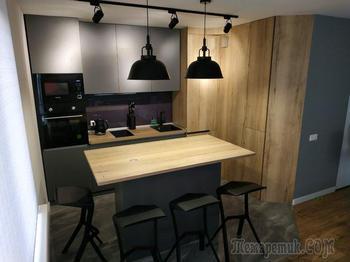 «Остановились на стиле минимализм». О ремонте кухни, который превзошел все ожидания