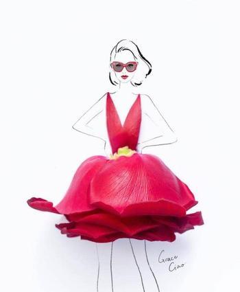 Модные иллюстрации Грейс Цяо