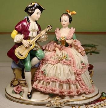 Дрезденские «кружевницы»: И опять любуемся фарфором