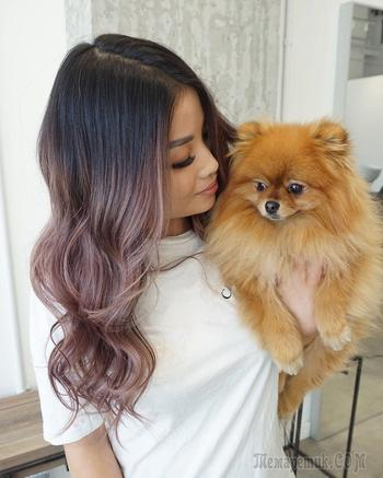 Растяжка цвета на волосах: все виды окрашивания