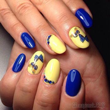 Модный маникюр на море — Летнее настроение на ногтях
