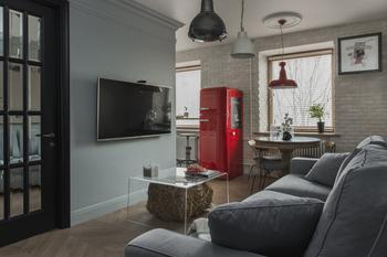 Как сделать 3 комнаты и кухню на 54 метрах: реальный пример