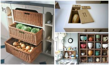 Практичные идеи правильного хранения, которые помогут навести порядок на кухне