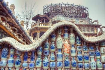 Дом из фарфора в Тяньцзине