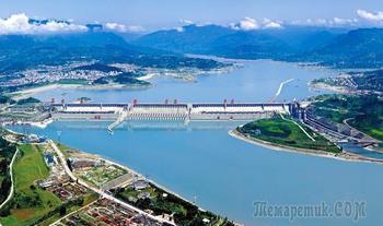 Китай 2018. 24. Три ущелья /Санься/ – самая мощная ГЭС на самой большой плотине в мире