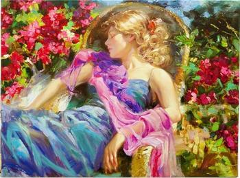 """""""Земную женщину ваяла красота..."""" Женские образы в творчестве Владимира Волегова"""