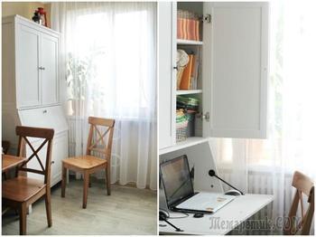 Простота и уют в скандинавском стиле на 8,2 м. кв.