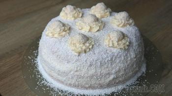 Кокосовый пломбир! Королевский торт для новогоднего стола!