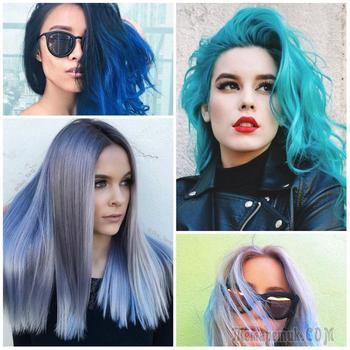 Модное окрашивание волос: Идеи 2018