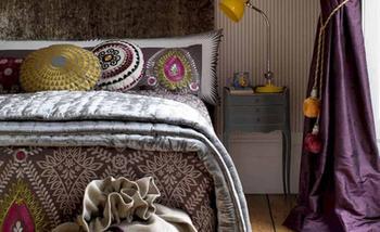 15 сумасшедших спален в хипстерском стиле