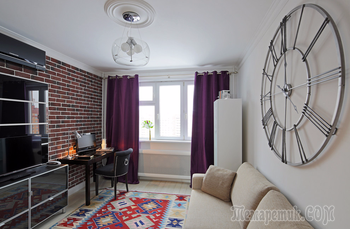 Микс классики и современного дизайна в московской квартире