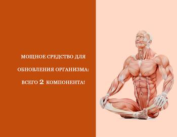 Мощное средство для обновления организма: Всего 2 компонента!
