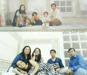"""Назад в детство: фотографии «тогда и сейчас"""""""