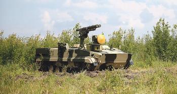 Боевой модуль для стрельбы по воробьям