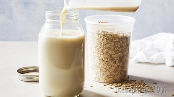 Овсяное молоко, дешевле коровьего! Полезное растительное молоко в домашних условиях