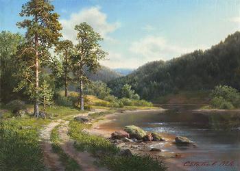 Михаил Сатаров - художник реалист