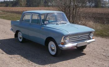 Мой первый автомобиль — Москвич-408 в коме