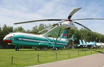 Ми-12 – самый большой вертолёт в мире, созданный в СССР