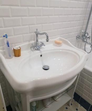 Ванная комната в ретро-стиле
