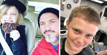 Британский парикмахер сумел постричь мальчика-картошку. Это было непросто