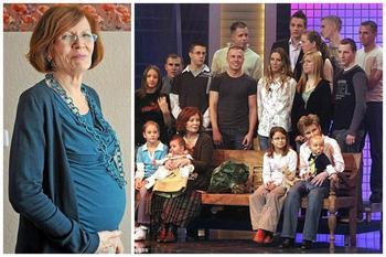 Вы не поверите - она родила в 65 лет четверняшек, при уже имеющихся 13-ти детях