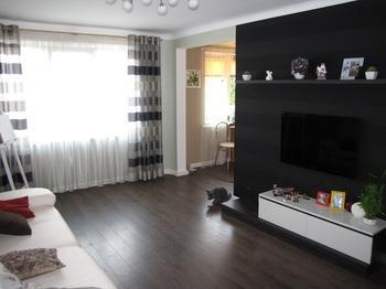 Гостиная: диван - копия итальянской модели, корпусная мебель - французской