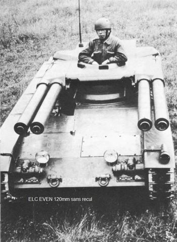 Семейство лёгких бронемашин EVEN ELC (Франция)