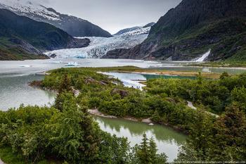 Ледники Аляски в фотографиях