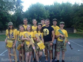 «Москаля складайте трупи»: как украинских детей готовят к войне с Россией (ВИДЕО)