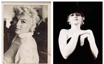 Редкие снимки Мэрилин Монро выставлены на аукцион в Далласе