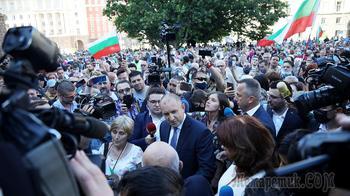 Кризис в Болгарии: президент возглавил протест